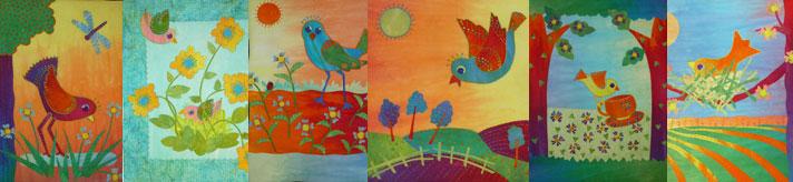 birdpatterncollage