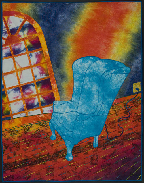 Blue Electric Chair